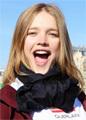 Беременная Наталья Водянова приняла участие в полумарафоне в Париже