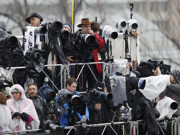 Штатская милиция задержала освещавшего протесты вВашингтоне репортера RT
