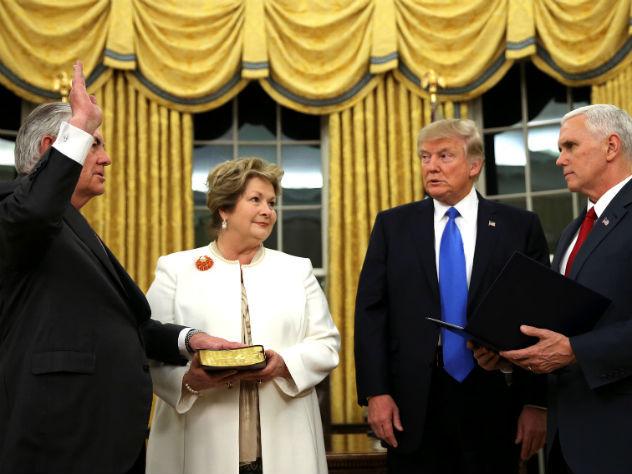 Трамп оназначении Тиллерсона: Онбудет звездой