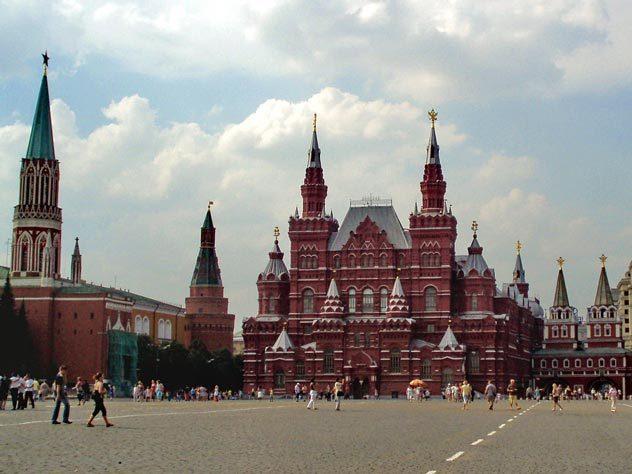 Красная Москва: какими цветами названы улицы столицы