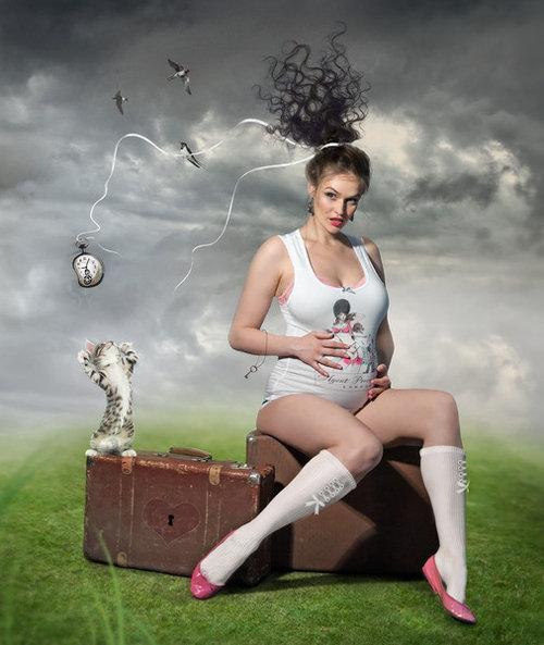 Алена ВОДОНАЕВА. Фото из личного блога телеведущей.