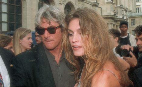 Брак Синди КРОУФОРД и Ричарда ГИРА просуществовал недолго. Фото: Daily Mail