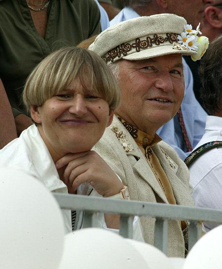 Елена БАТУРИНА, Юрий ЛУЖКОВ (фото Анатолия ЖДАНОВА)