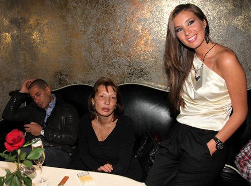 Кэти ТОПУРИЯ с мамой и женихом