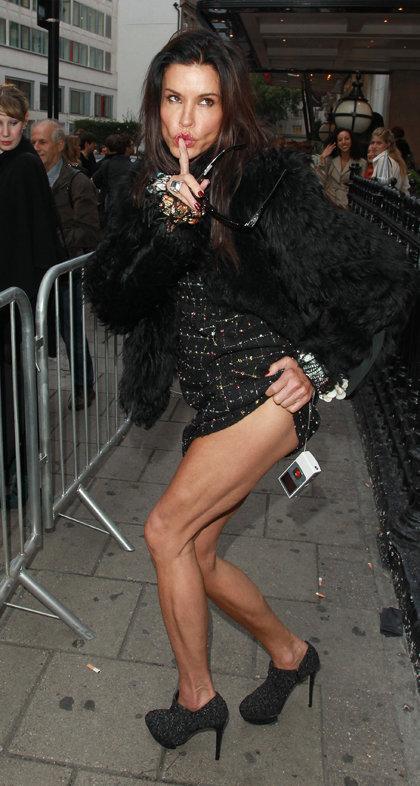 Дженис Дикинсон в сентябре на Нью-Йоркской неделе моды
