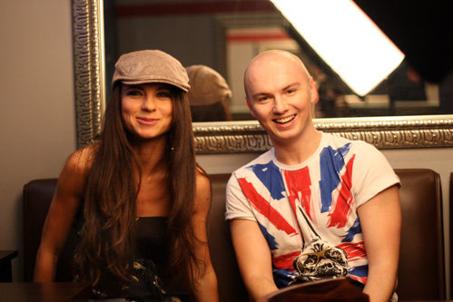 Анна ПЛЕТНЁВА с корреспондентом MTV Сергеем АШАРИНЫМ