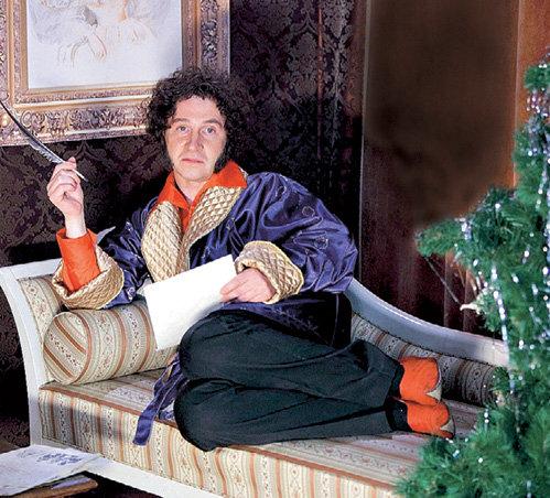 Пушкин (КАЙКОВ) даже в новогоднюю ночь не мог забыть о творчестве