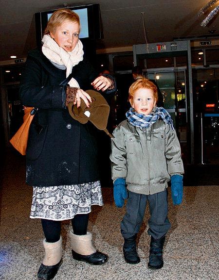 Маша ШАЛАЕВА с сыном Нестором