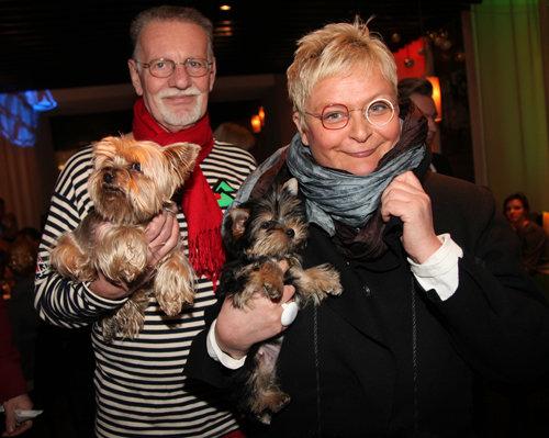 Светлана КОНЕГЕН с супругами и любимыми собаками