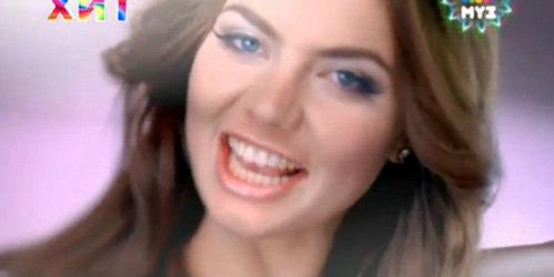Алина КАБАЕВА в своём дебютном клипе
