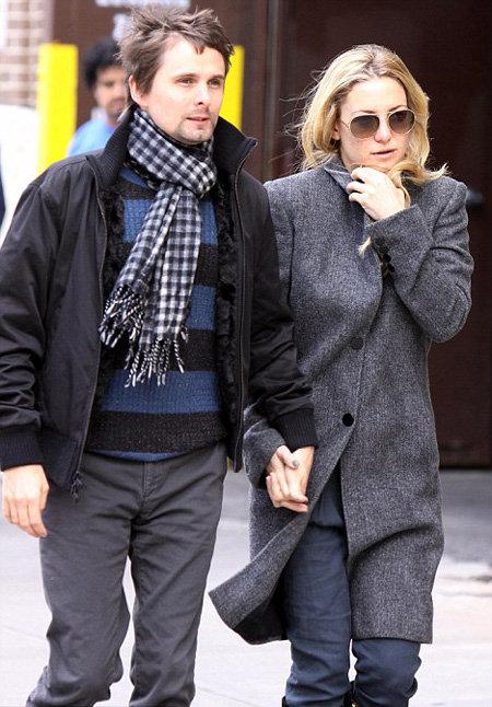 Кейт ХАДСОН и Мэтью БЕЛЛАМИ скоро станут родителями