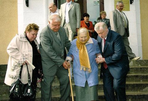 Сергей Михайлович всегда помогал Ираиде Сергеевне