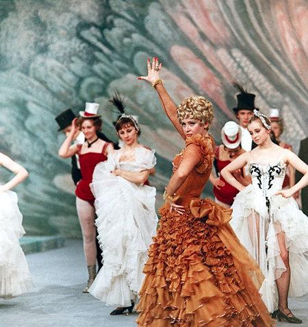 В спектакле Театра оперетты