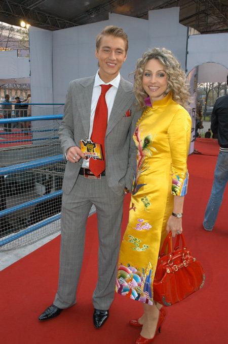 Екатерина ФОН ГЕЧМЕН-ВАЛЬДЕК, Алексей ВОРОБЬЁВ (фото Ларисы КУДРЯВЦЕВОЙ)
