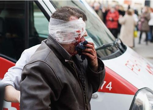 В результате взрыва в минском метро погибли 12 и ранены 149 человек. Фото: svobodanews.ru