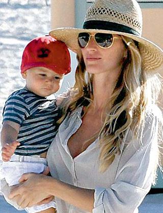 С мамой-супермоделью малыш Бенджамин со временем въедет в суперхоромы