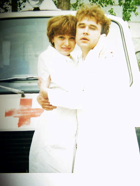С КОЛЛЕГОЙ: молодой Рябушинский почти 5 лет проработал врачом-терапевтом в челябинской больнице «скорой помощи»