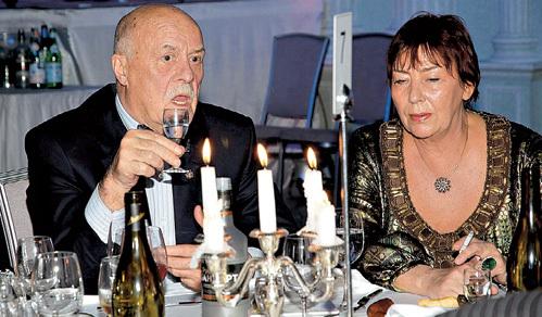 Станислав ГОВОРУХИН признался, что лучший подарок на его недавнее 75-летие - это, как всегда, жена Галина