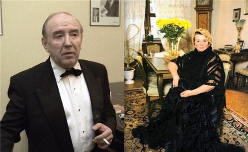 Татьяна ТАРАСОВА и Владимир КРАЙНЕВ