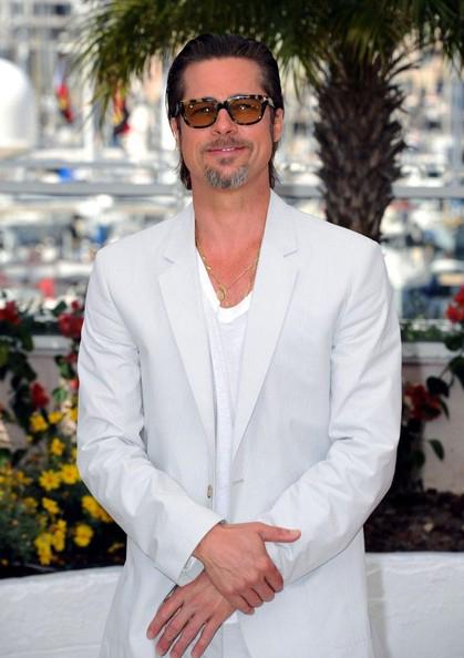 На Каннском фестивале-2011 он сверкал благородной сединой...