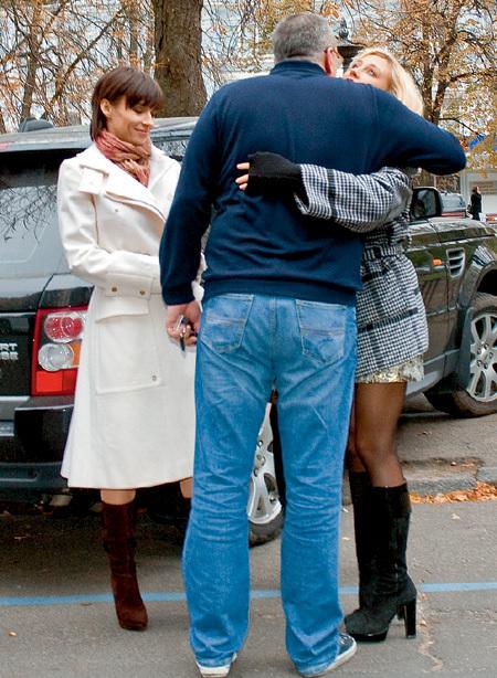 О романе Кости и Евы знают не только их коллеги (на фото Надежда МЕЙХЕР), но и весь киевский шоу-бизнес (фото zvezd.net)