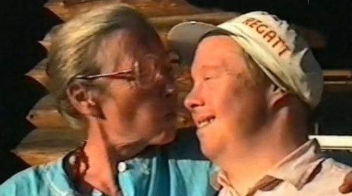 Ия САВВИНА с сыном Сергеем. Фото: 1tv.ru