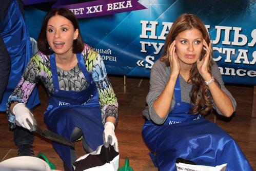 Ирина ЛАЧИНА и Виктория БОНЯ