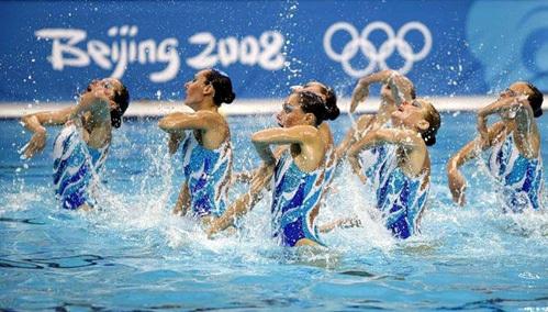 На выступлении на олимпиаде  в Пекине (2008 г) (фото fotki.yandex.ru)