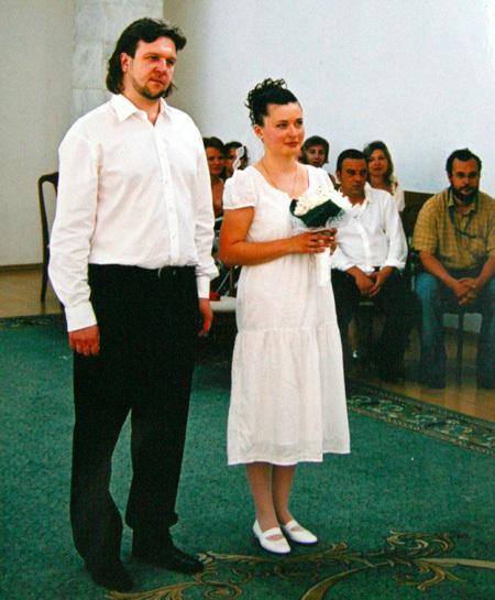 С нынешней женой Ириной Фёдор расписался в Москве