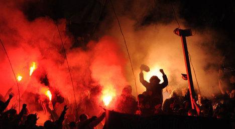 Фанаты «Зенита» принесли свои извинения за хулиганства во время матча лиги чемпионов (Фото: РИА «Новости»)