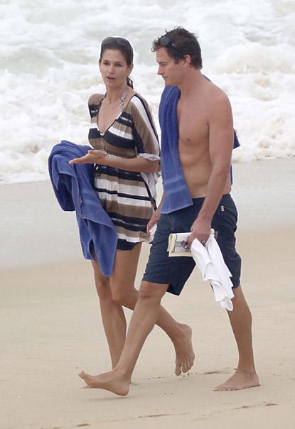 Синди КРОУФОРД с мужем Рэнди ГЕРБЕРОМ. Фото: Splash/All Over Press