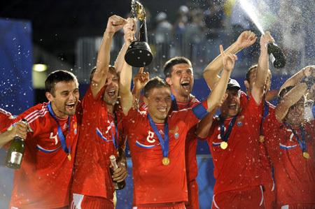 Сборная России по пляжному футболу доказала, что она сильнейшая в мире. Фото РИА «Новости»