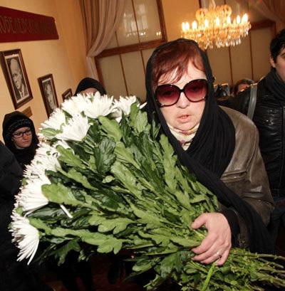 Мария Борисовна КОРОЛЁВА, дочь Людмилы ГУРЧЕНКО от первого брака (Фото Бориса КУДРЯВОВА)