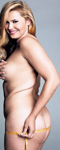 28-летняя российская модель Екатерина ЖАРКОВА в журнале «PLUS Model Magazine» показала, чем хороши полные женщины