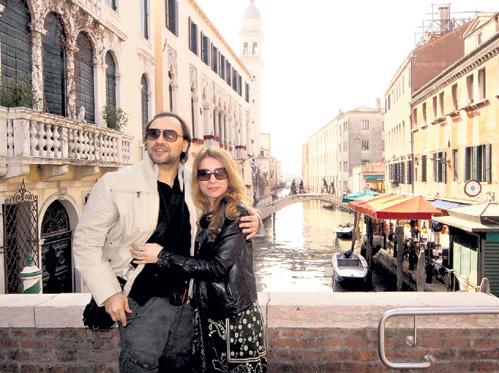 Самый романтичный город мира встретил гостей из заснеженной Москвы ярким солнцем