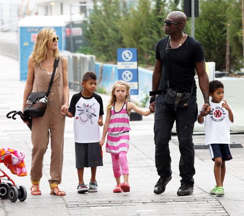 Хайди попросила суд оставить детей с ней. Фото: Splash/All Over Press.