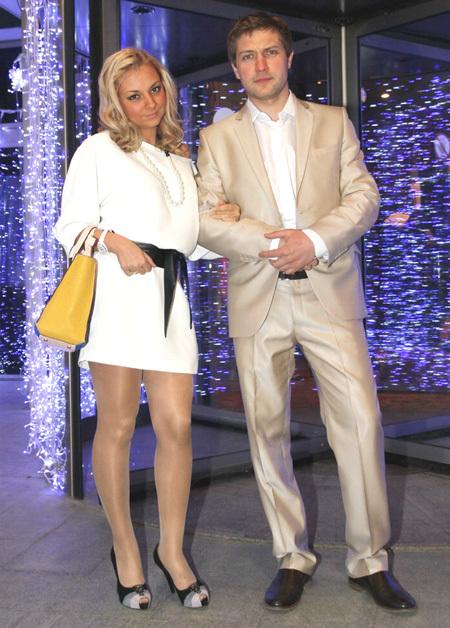 Дарья САГАЛОВА с мужем