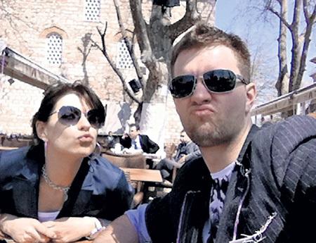 Катя и Андрей отлично провели время в Турции