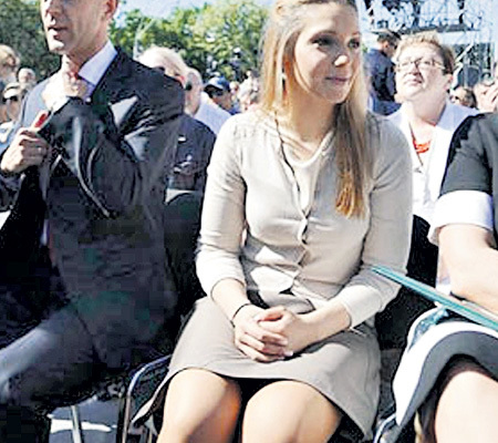 Что у юлии тимошенко под юбкой