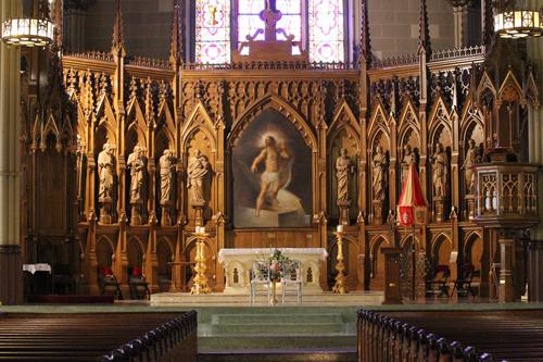 Венчание проходило в нью-йоркском соборпе Святого Патрика.