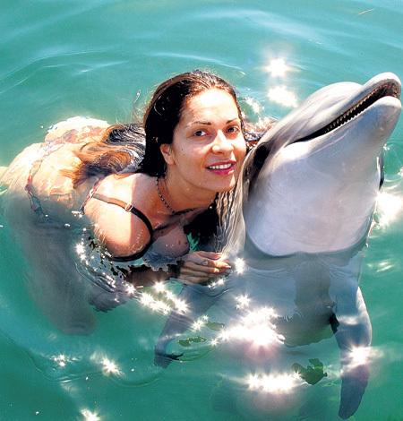 В Севастопольском дельфинарии ИГНАТОВА познакомилась с Эрой