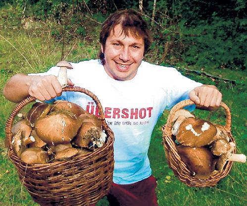 Евгений ЧИЧВАРКИН, оказавшись в Лондоне, сразу же освоил ближайшие леса. Фото^ vk.com