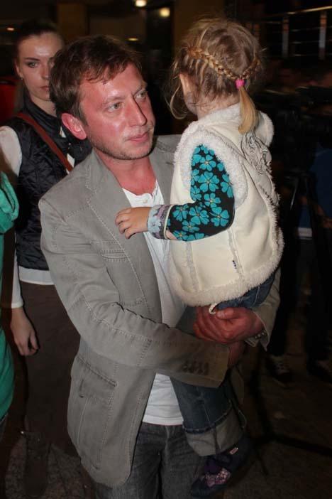 Михаил ТРУХИН с дочкой