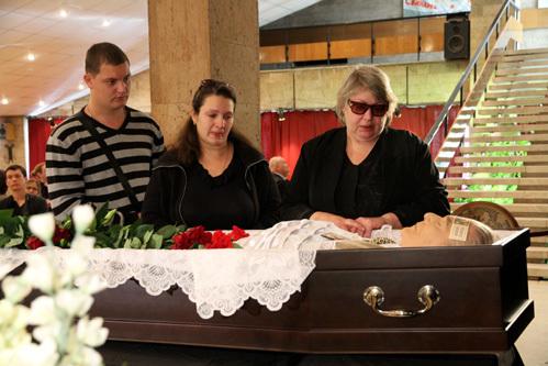 Вдова Александра БЕЛЯВСКОГО Людмила и дочь Надежда