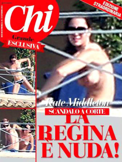 Кейт МИДДЛТОН на обложке журнала
