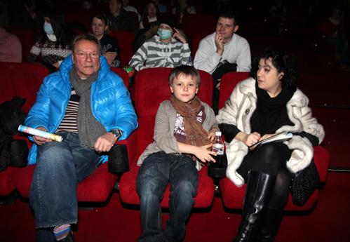 Сергей ШАКУРОВ с семьёй