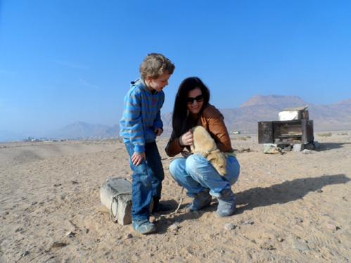 Анастасия ДЕНИСОВА с сыном Юрой