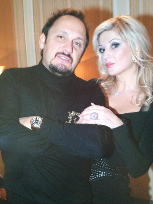 Стас МИХАЙЛОВ с женой Инной (фото из личного архива Стаса МИХАЙЛОВА).