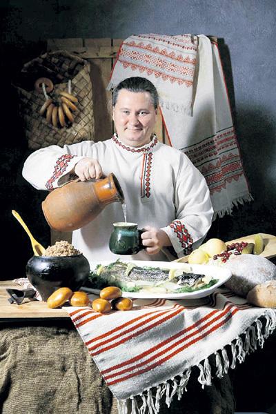 Максим СЫРНИКОВ - настоящий кулинарный патриот