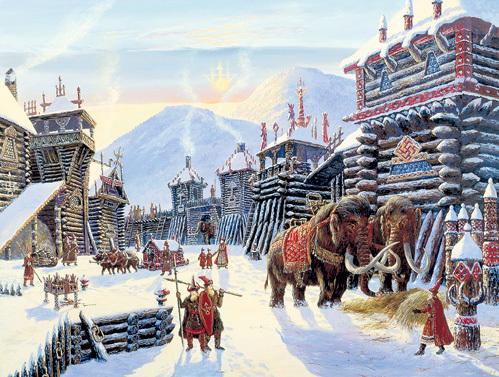На Русском Севере 30 тыс. лет назад жили арии, цивилизацию которых уничтожил метеорит...